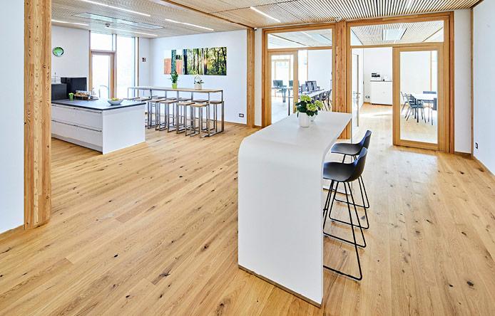 Brüeinrichtung Küche Meeting