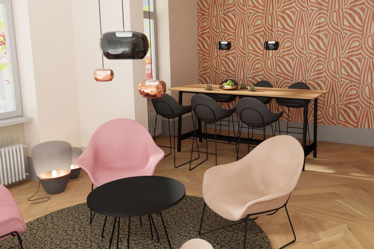KAHL Büroeinrichtungen 3D Visualisierung
